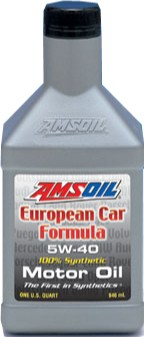 Amsoil synthetic 5w 40 european engine oil harley for Motor oil api rating