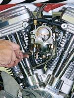 Carburetor fuel line